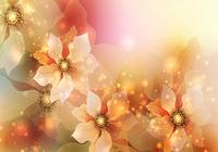 Rougeoyant Fleurs Fond D'écran