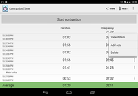 Contraction Timer Android