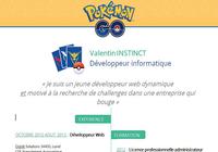 Modèle CV Pokemon Go Word