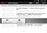 A8 Video Player