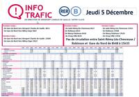 Horaires RER B 5 décembre 2019 PDF