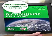 Dictionnaire PONS en ligne
