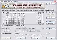 Power CD+G Burner