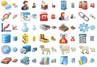 Large Factory Icons