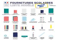Liste de fournitures scolaires 2020