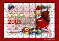 Puzzle Bonne Année 2008