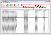 Sitemap Writer