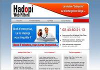 HADOPI WEB FILTER