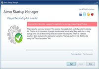 Ainvo Startup Manager