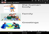 Apprendre l'arabe Android