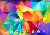 Galaxy S5 fond d'écran animé