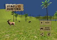 3D de chasse au cerf