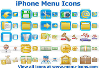 iPhone Menu Icons