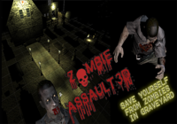 Zombies d'assaut jeu 3D