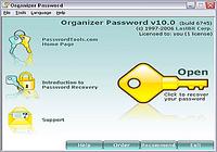 Organizer Password
