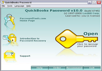 QuickBooks Password