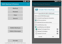 SMS Backup & Restore Android