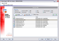 EMS Data Import 2005 for Oracle