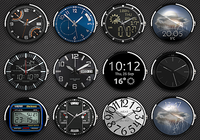 Clocki - Wear Watch Face Pack