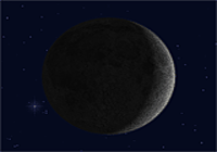 Actual Moon 3D