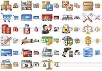 Large Logistics Icons