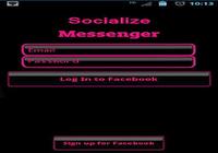 Pink Socialize 4 FB Messenger