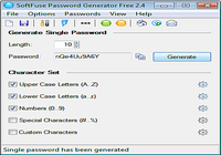 SoftFuse Password Generator Free