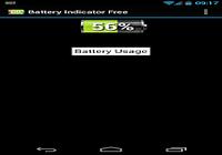 Indicateur niveau de batterie