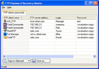 FTP Password Recovery Master