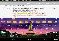 Paris Night Keyboard -Emoji