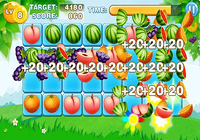 Combats de fruits