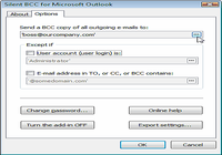 Silent BCC for Microsoft Outlook