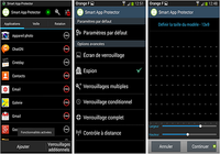 Serrure (smart app protector) Android