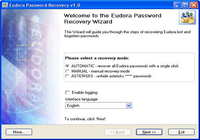 Eudora Password Recovery