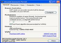 Unused Account Ferret