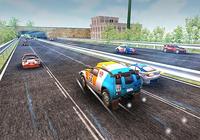 Rallye voiture course rivale