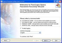 Opera Password Recovery