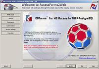DBForms from MSAccess to PHP+PostgreSQL