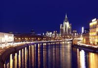 Night Moscow Screensaver