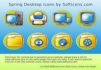 Spring Desktop Icons