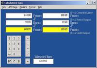 Calculatrice Euro