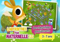 Labyrinthes pour maternelle HD