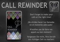 Call Reminder Lite (Rappel ap)