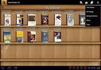 Lecteur ebook Pro