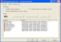 Winpopup Server
