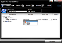 Blu-ray vers DVD