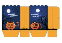 Pochette carte cadeau Halloween