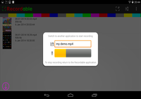 Recordable Android