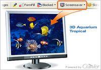 Crawler 3D Tropical Aquarium Screensaver