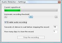 Audio Detector